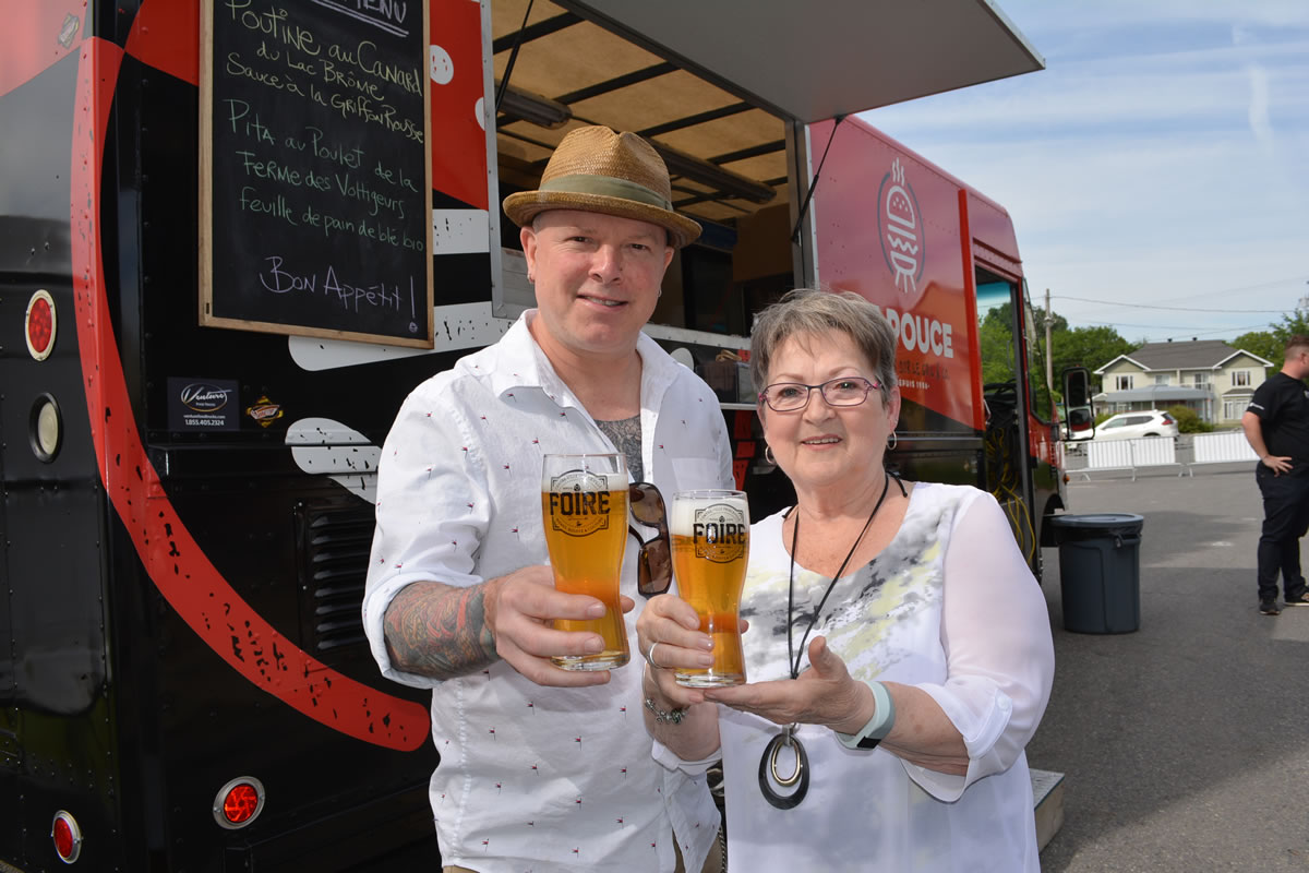 Les bi res de microbrasseries et les foodtrucks for Porte parole
